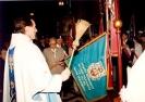 Sztandar Oddziału Słupca poświęcony 03.05.1995r. w kościele Św. Wawrzyńca w Słupcy