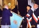 Sztandar Oddziału Gdańsk poświęcony 29.08.1999r. w bazylice archikatedralnej w Gdańsku-Oliwie