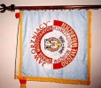 Sztandar Oddziału Wałbrzych poświęcony 20.06.1999r. w kościele Św. Aniołów Stróżów