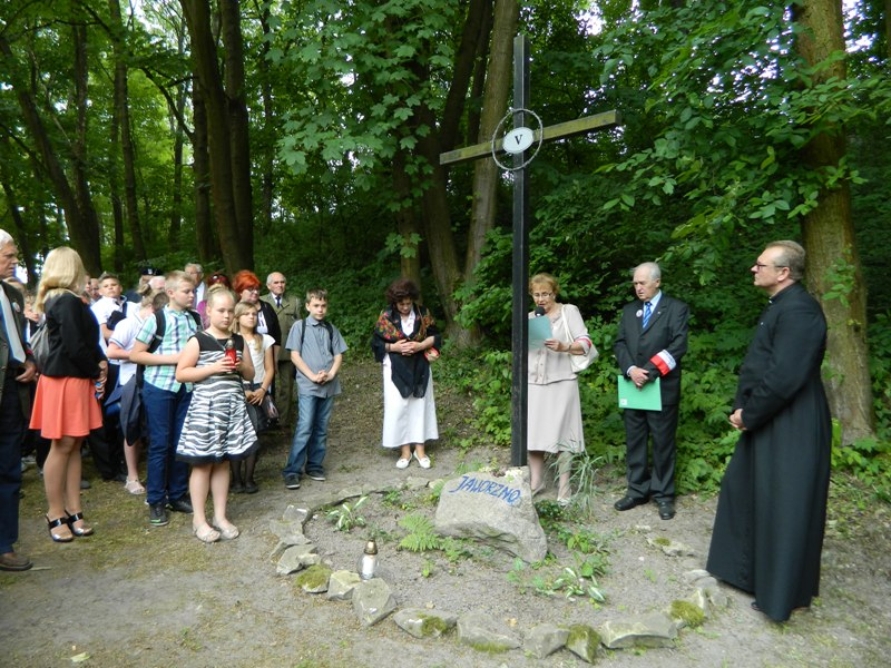Modlitwa przy stacji V - Jaworzno