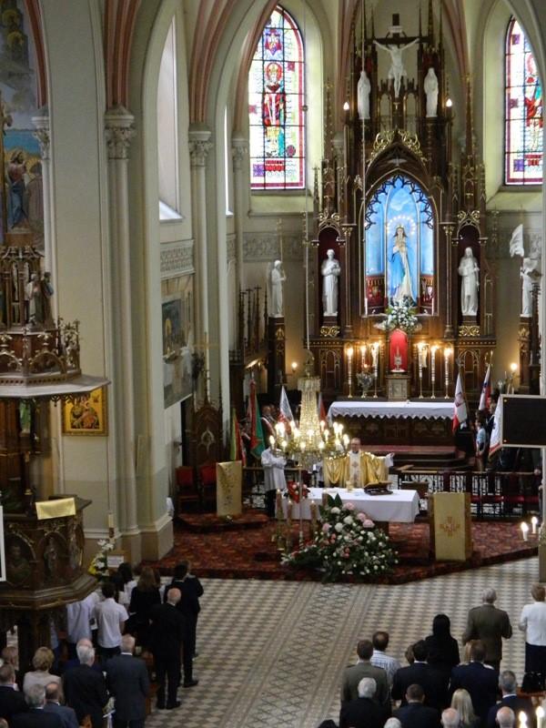 Msza św. w Kościele pw. św. Wita w Mełgwi