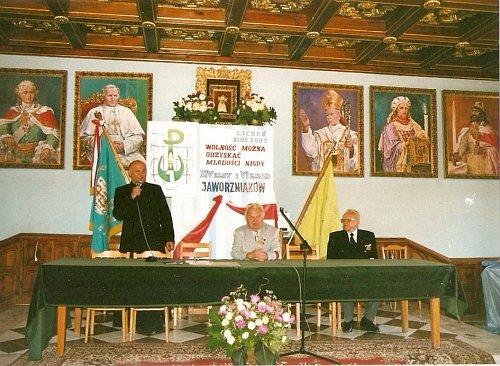 VI Zjazd i XIV Zlot w Licheniu. Jaworzniaków wita Kustosz Sanktuarium ks. Wiktor Gumienny