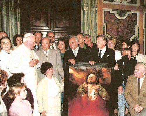 Jaworzniacy na audiencji u Ojca Świętego Jana Pawła II